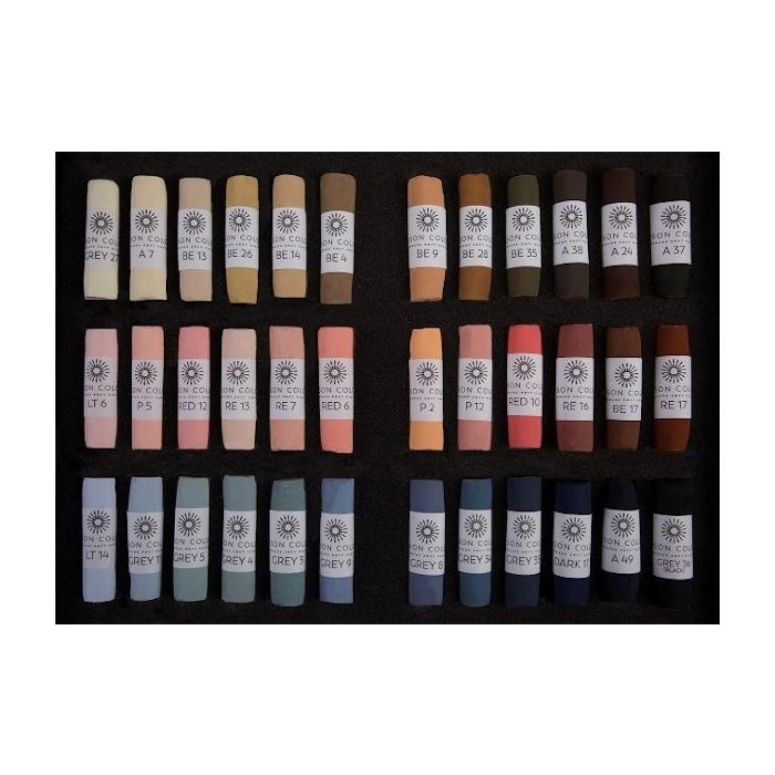 Unison Colour Soft Pastel sets of 36