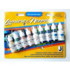 Exciter Pack Jacquard Lumiere  & Neopaque (9 x 14ml bottle set) Metallics & Opaques