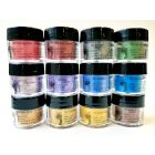 Pearlex Powder Pigment Series 2 set of 12 x 3g - Jacquard