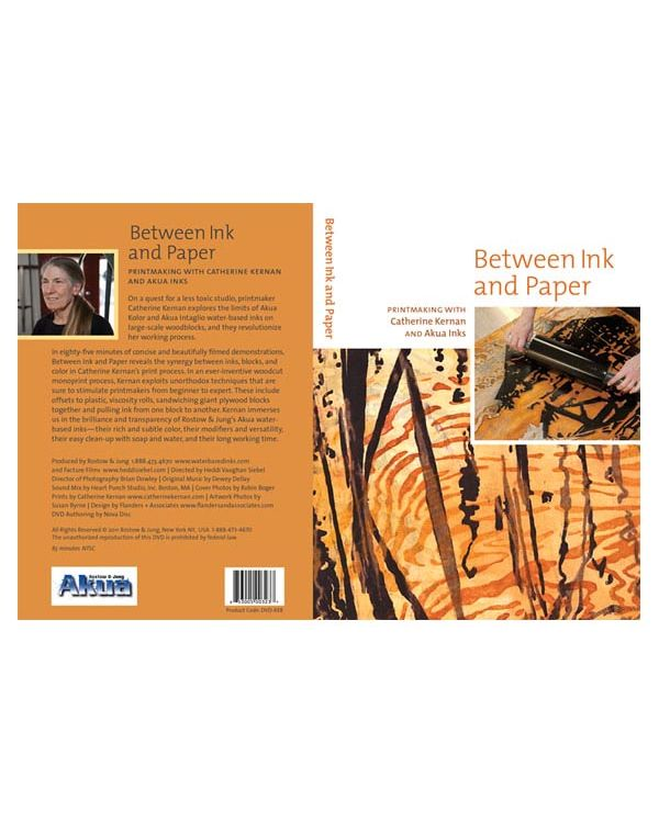 Between Ink and Paper Printmaking DVD