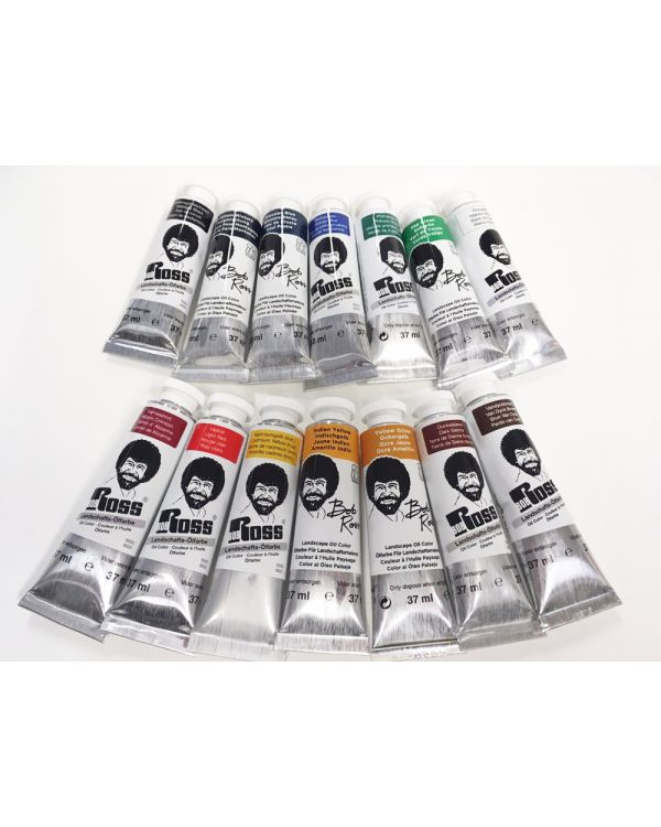 37ml - Bob Ross Oil Landscape Set 14 colours