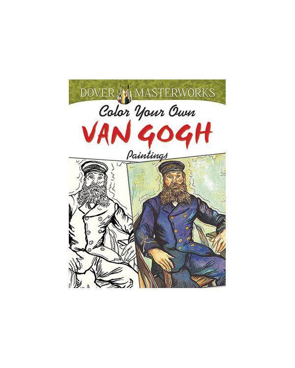 Van Gogh - Colour Your Own - Dover Colouring Book