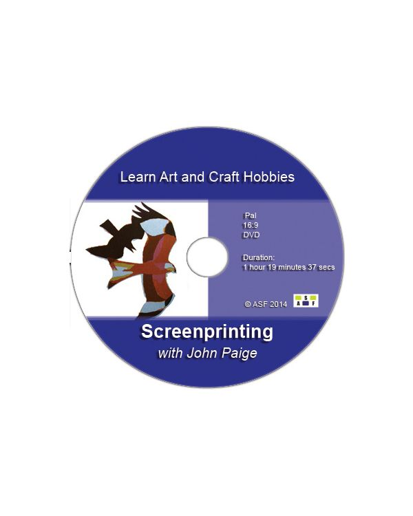 Screen Printing with John Paige - DVD