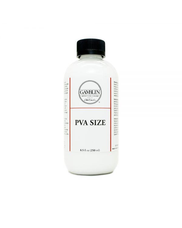 PVA size - Gamblin
