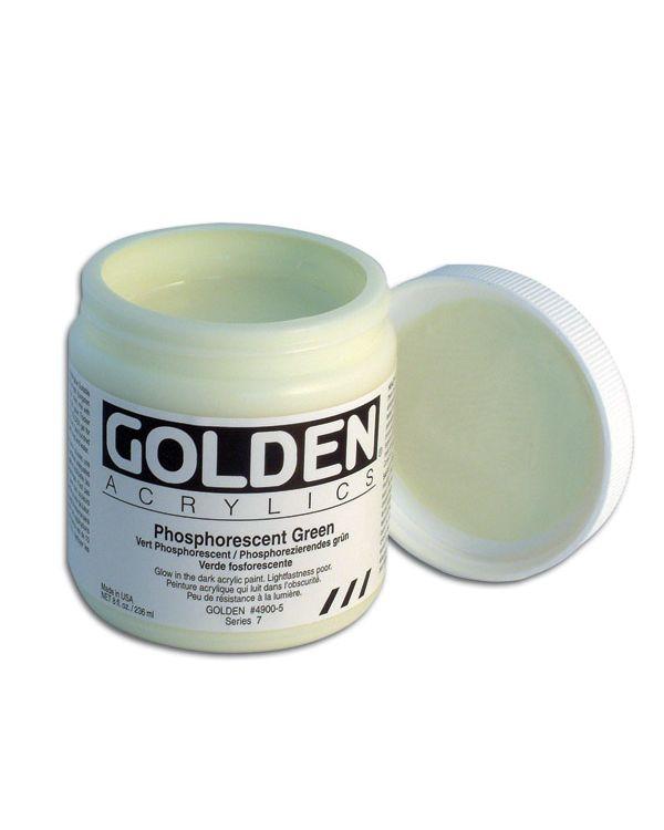 Golden Phosphorescent Medium