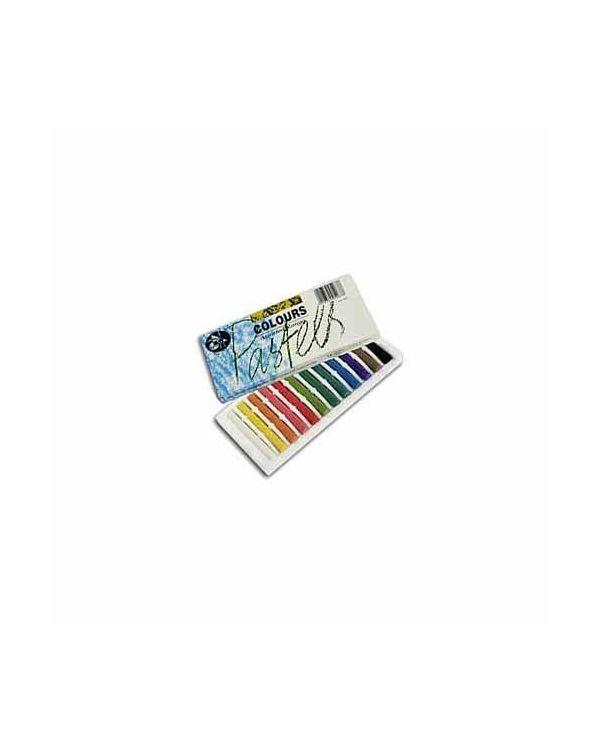 Assorted Colour - 12 Pack - Jakar Hard Pastel Sets