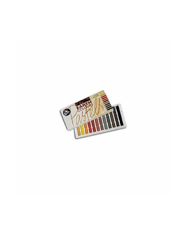 Earth Colour - 12 Pack - Jakar Hard Pastel Sets