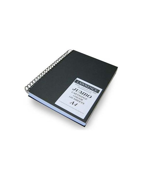 A4 -  Portrait 150 pages, 110gsm - Lawrence Jumbo Drawing Pad