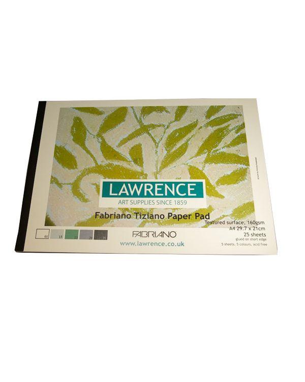 A4 Lawrence - 25 sheets - Fabriano Tiziano Pad