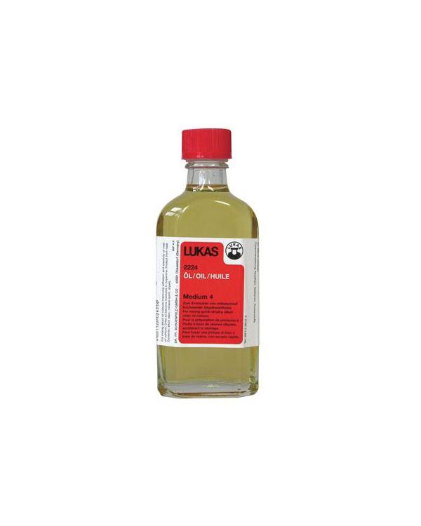 Alkyd Oil Medium No.4 Lukas