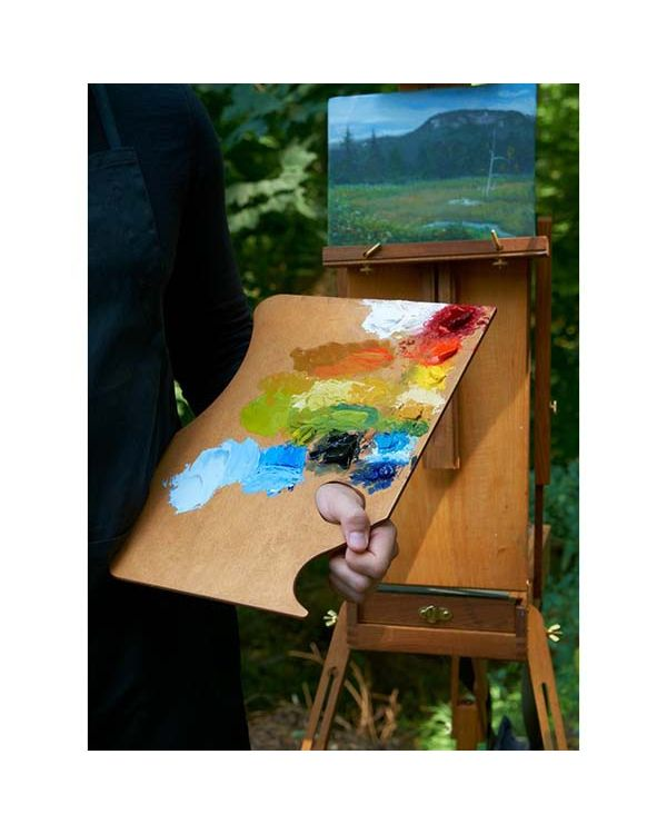 Highland - Left Hand - 28 x 40cm - Wooden Palette - Highland Palette - New Wave