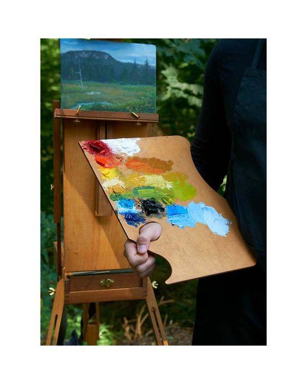Highland - Right Hand - 28 x 40cm - Wooden Palette - Highland Palette - New Wave