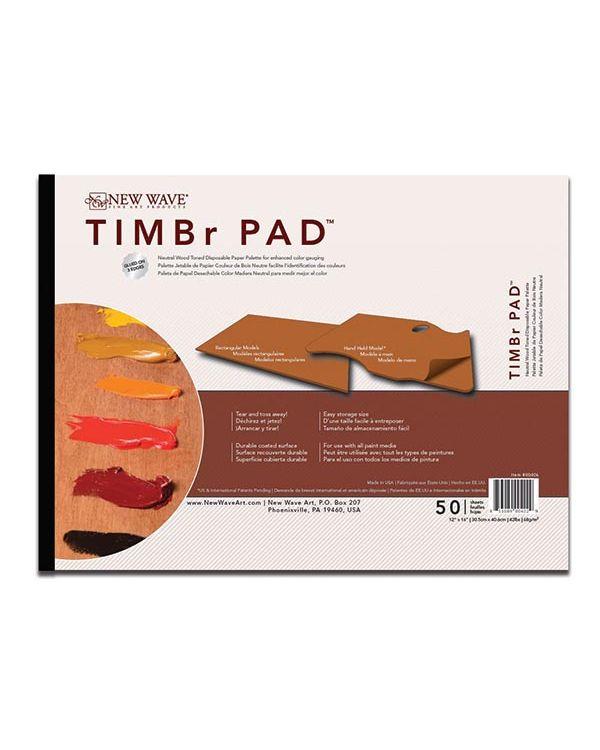 22 x 30cm Rectangular - TIMBr Disposable Palette - New Wave