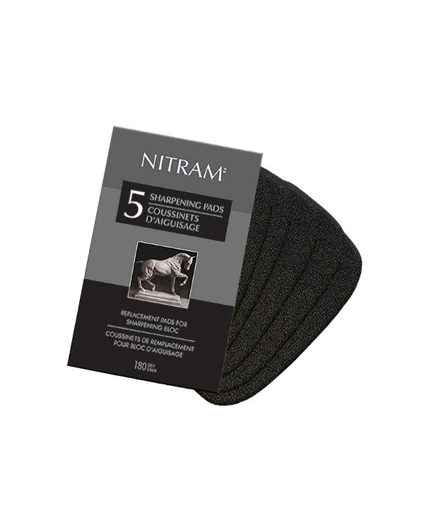 Nitram Sharpening Bloc Replacement Pads
