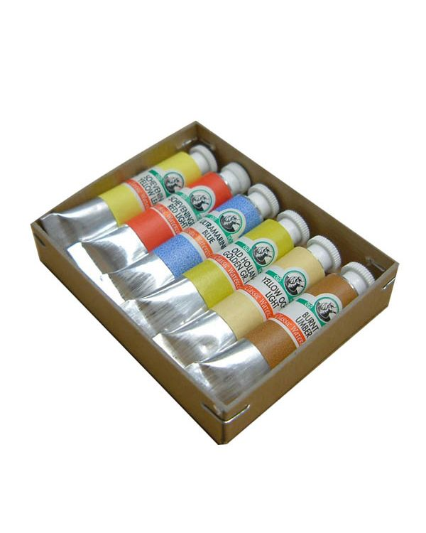 Introduction Set of Six Tubes -Old Holland Watercolour Sets