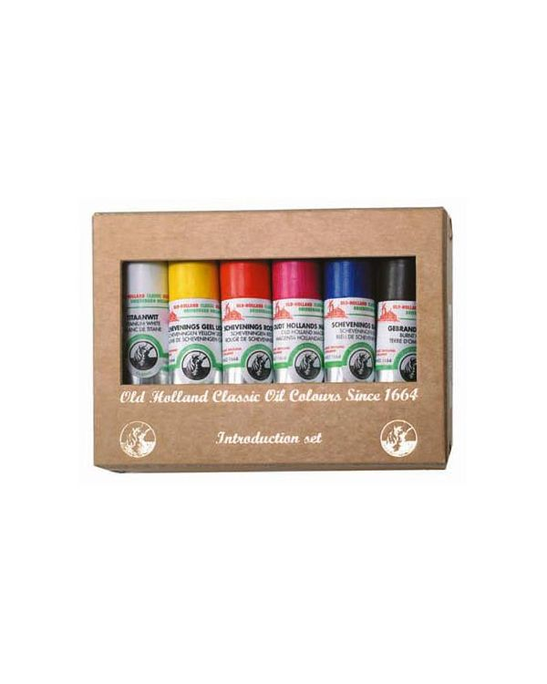 6 x 18ml Tubes - Old Holland Classic Oil Painting Set