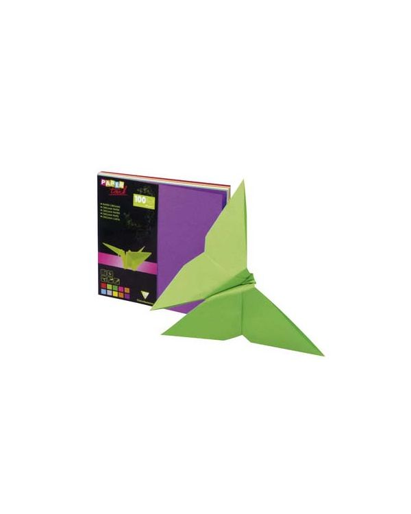 12 x 12cm x 100 sheets Origami Paper - Clairefontaine