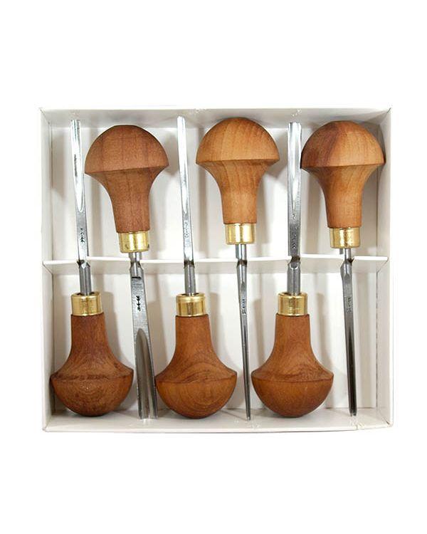 C Set of 6 - Set of Pfeil Lino Tools