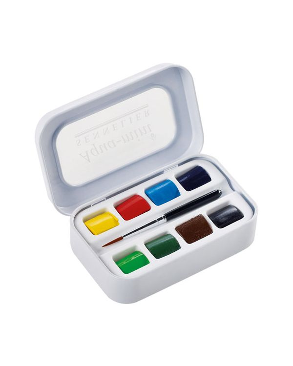 Aqua Mini Watercolour set of 8 Pans - Sennelier