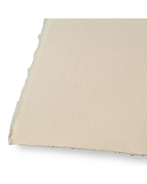 Buff - 76 x 56cm - Somerset Printmaking Paper - Velvet