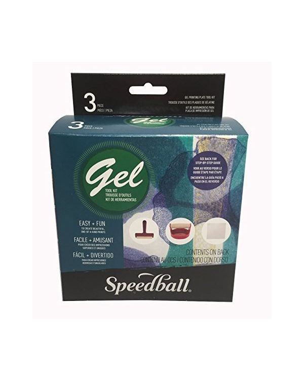 Gel Printing Tool Kit - Speedball