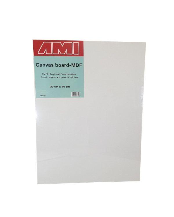 30 x 40cm - Canvas Laminated MDF Panel 3.2mm deep