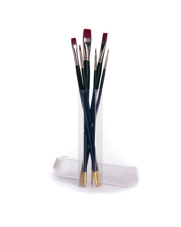 Acrylic brush set assorted