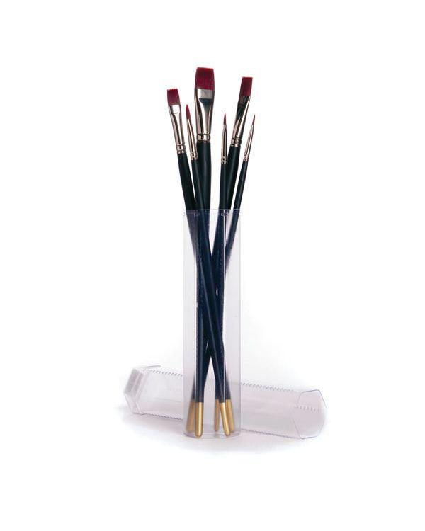 Acrylic brush set assorted