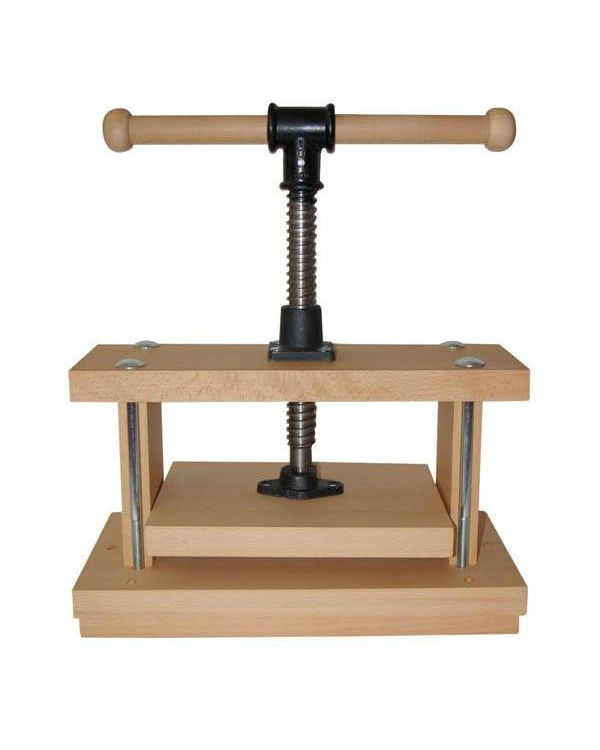 * Beech Wood Printing Press No 1 30 x 21 cm