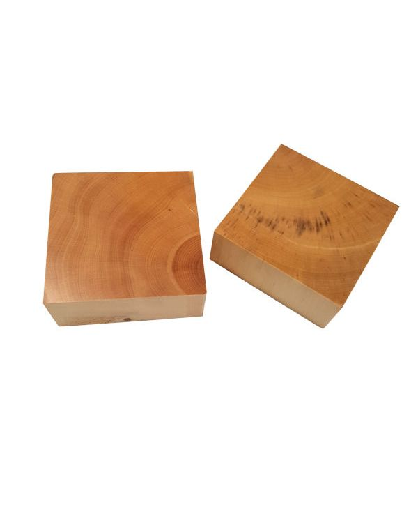 50 x 50mm pack of 2 - Boxwood Block