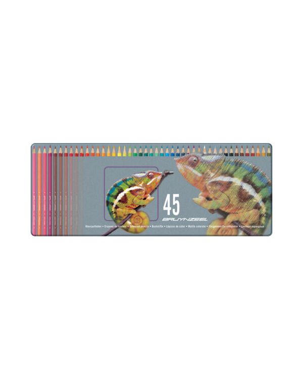 Chameleon - Bruynzeel Tin 45 Coloured Pencils