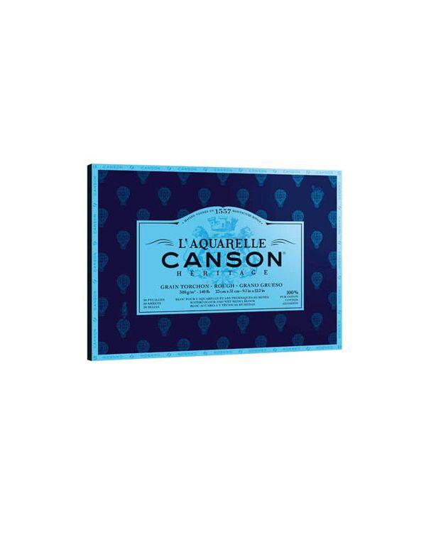 Rough - 26 x 36cm - 300gsm - Canson Héritage Block