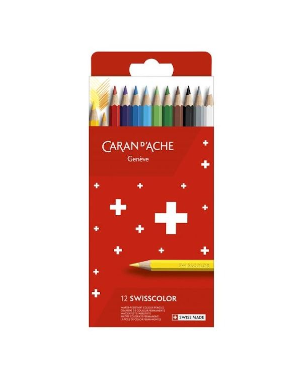 Caran D'ache Swisscolor Colouring Pencil Set