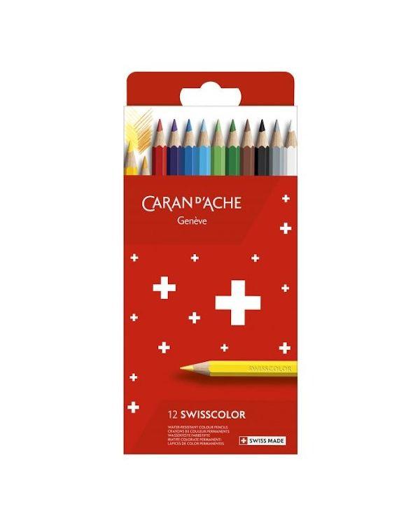 Caran D'ache Swisscolor Colouring Pencil Set