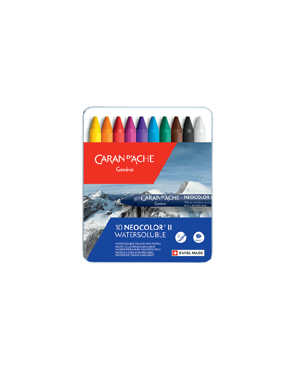 Set 10 - Neocolour WC Crayon