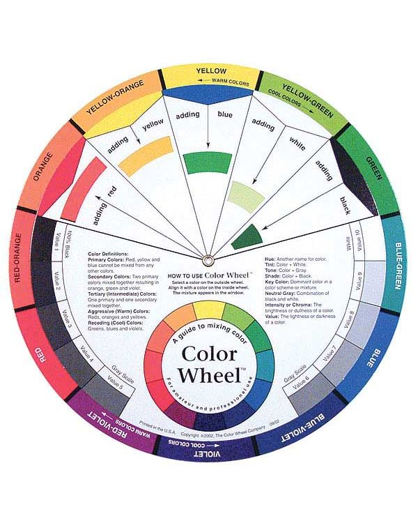 Artists Colour Wheel 242mm