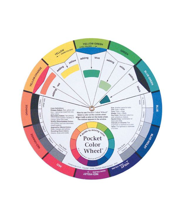 Pocket Colour Wheel 130mm