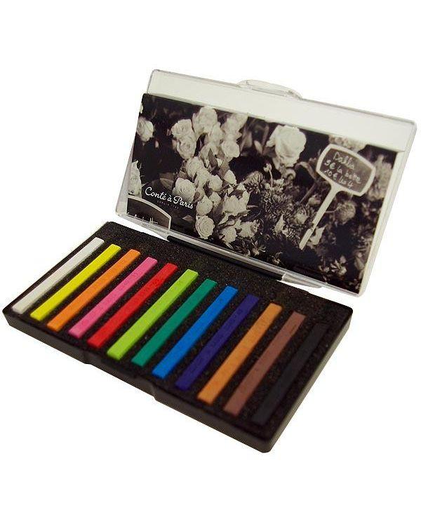 Assorted - Sketching Crayon Set - Conté à Paris