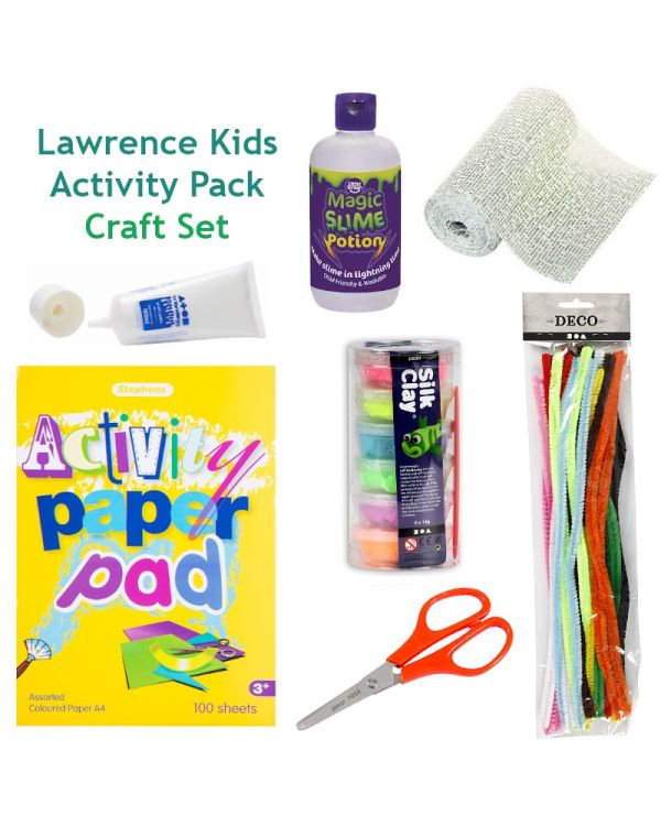 Lawrence Kids Activity Pack - Craft Set