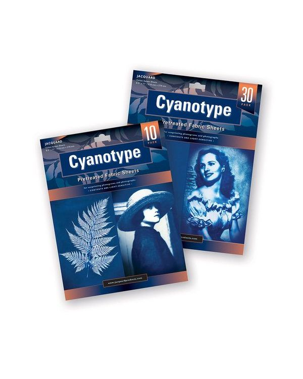 Cyanotype Fabric Sheets Pack of 30 - Jacquard
