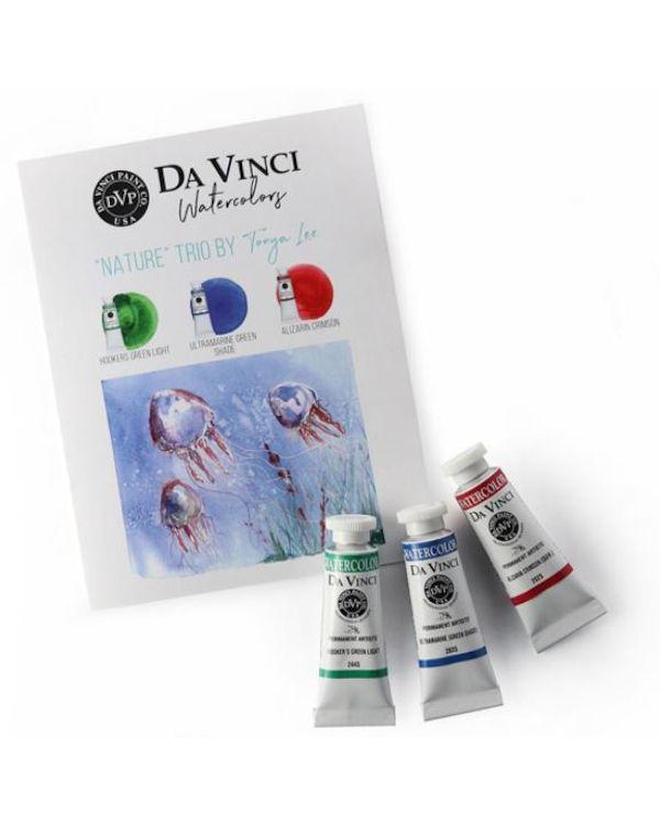 Tonya's Nature Trio - Da Vinci Paint Watercolour Sets