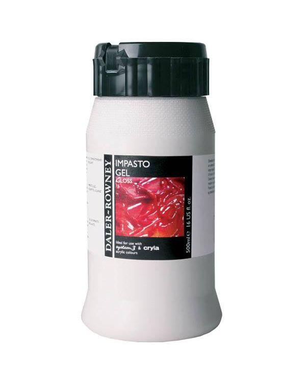 500ml - Gloss - Daler Rowney Heavy Gel (Impasto gel)