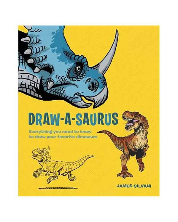 Draw-A-Saurus by James Silvani