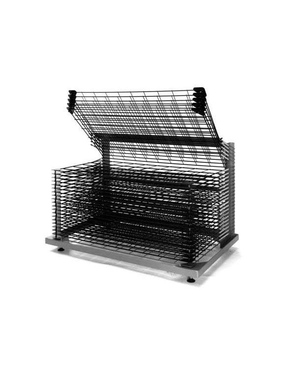 A2+ Tray Size 25 shelf bench model - Drying Rack