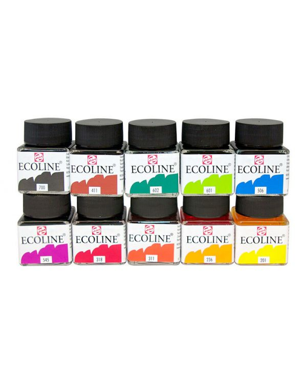 10 x 30ml Bottles - Ecoline Set