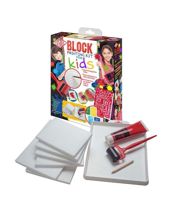 Block Printing Kit for Kids - Essdee
