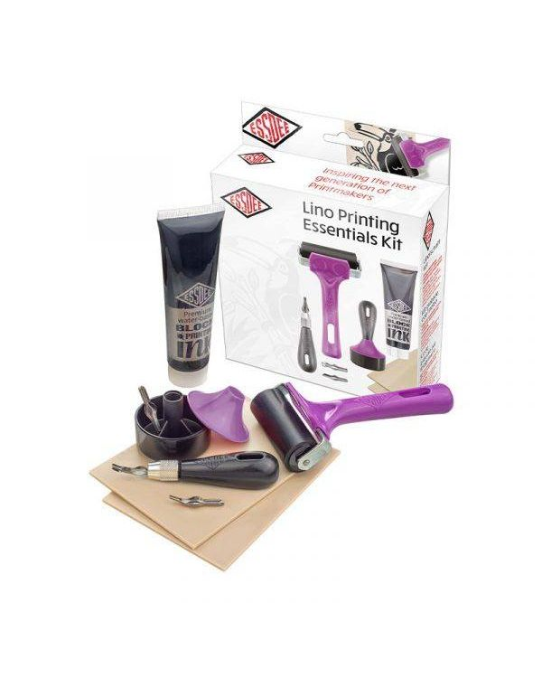Lino Printing Essentials Kit - Essdee