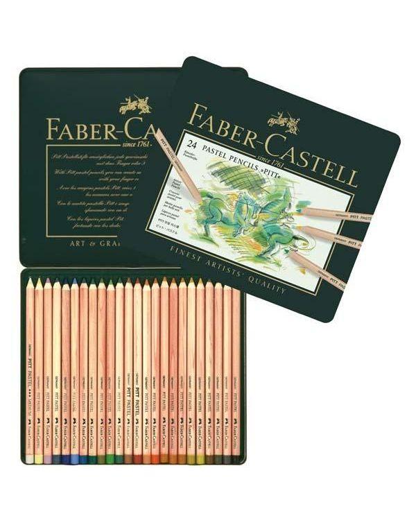 24 - Faber Castell Pitt Pastel Pencil Sets
