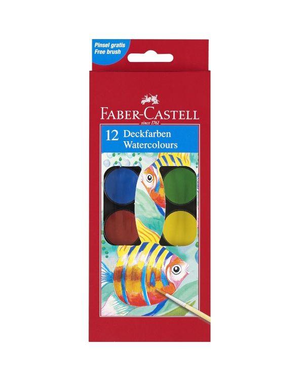 Watercolour Paint Box Set 12 Faber Castell