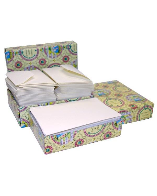 20 Cards & Envelopes - Fabriano Medioevalis